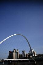The Gateshead Millenium Bridge and Baltic Mill Art Gallery, Newcastle Upon Tyne. - Mark Pinder - 05-02-2007