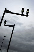 Some very sinister looking average speed traffic cameras on the A1068, Newcastle Upon Tyne. - Mark Pinder - 05-03-2007