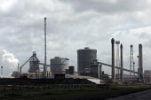 The Corus Redcar steelworks at Redcar Co Cleveland which is to be mothballed with the loss of over 2000 jobs after parent company Tata announced the cancellation of 4 major contracts for it's slab ste... - Mark Pinder - 08-05-2009