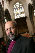 Tom Wright, the Bishop of Durham. Auckland Castle, Bishop Auckland, Co Durham. 3/3 2004. - Mark Pinder - ,2000s,2004,anglicanism anglican,Castle,church of england,County Durham,religion,religion ,religions,RELIGIOUS,RLB religion & belief,values