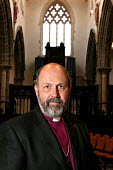 Tom Wright, the Bishop of Durham. Auckland Castle, Bishop Auckland, Co Durham. 3/3 2004. - Mark Pinder - 2000s,2004,anglicanism anglican,Castle,church of england,County Durham,religion,religions,RELIGIOUS,RLB religion & belief,values