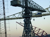 The cranes of Swan Hunter shipyard in Wallsend on the River Tyne are to be consigned to history following the closure of the yard. The cranes are being dismantled and exported to the Bharati Shipyard... - Mark Pinder - 11-12-2007