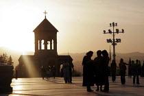 The Georgian Orthodox Sameba Church, Tbilisi, Georgia, 20/5 2005. - Mark Pinder - ,2000s,2005,Church,churches,Georgia,Georgian,Orthodox,RLB religion & belief