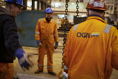 Offshore oil platform builder, OGN, (Offshore Group Newcastle), Wallsend, Tyne and Wear, UK - Mark Pinder - 17-12-2014