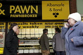 A branch of high street pawnbrokers Albemarle and Bond in North Shields, Tyne and Wear. - Mark Pinder - 24-02-2009