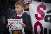 Save Our Steelworks campaign, Keep the Lights Burning rally, Redcar Teesside - Mark Pinder - 2010s,2015,activist,activists,boy,boys,BURN,Burning,BURNS,CAMPAIGN,campaigner,campaigners,CAMPAIGNING,CAMPAIGNS,child,CHILDHOOD,children,closed,closing,closure,closures,Community Union,DEMONSTRATING,D
