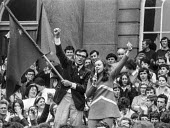 Bernadette Devlin McAliskey, standing as an independent Socialist and Republican wins the Mid Ulster seat in the 1970 General Election at the age of 23, Ulster, Northern Ireland - NLA - 1970,1970s,age,Bernadette,Bernadette Devlin McAliskey,campaign,campaigning,CAMPAIGNS,democracy,Devlin,election,elections,equal rights,equality,FEMALE,feminism,feminist,feminists,general,Independent,Ir
