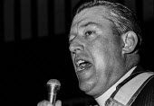 Reverend Ian Paisley, DUP speaking, election rally, Northern Ireland 1970 - NLA - 06-06-1970