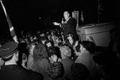 Reverend Ian Paisley, DUP speaking, election rally, Northern Ireland 1970 - NLA - 05-06-1970