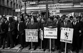 Upper Clyde Shipyards workers protest in London against the closure of their yards and against the Heath government - NLA - 16-06-1971