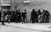 Part of the crowd begining to realise that the British paratroopers are firing on them, Derry, Northern Ireland 1972 - NLA - 30-01-1972