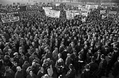 Rally in London during the national one-day strike called by the TUC against the Heath Governments new laws against the trade unions. - NLA - 08-12-1970