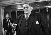 Cyril Smith at a Financial Times conference on 'Corporatism'. - NLA - 1970s,1973,conference,conferences,Cyril,Financial,Liberal Party,MP,paedophile,paedophiles,paedophilia,pedophile,pedophiles,pedophilia,pol,political,POLITICIAN,POLITICIANS,politics,Smith,Times