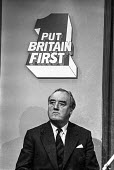 Willie Whitelaw at a Conservative party election press conference - NLA - 23-09-1974