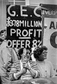 GEC workers lobby pay talks, London - NLA - 17-09-1979