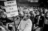 Protest at banning of trade unions at GCHQ. Rally during Day of Action. - NLA - 23-02-1984