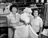 Two female laundry room workers - Paul Carter - 01-08-1982