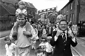 Nottinghamshire miners who remained on strike during the miners strike, Nottinghamshire miners Gala 1986 - Peter Arkell - 06-09-1986
