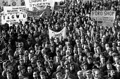 National protest called by the TUC to oppose the anti-union laws proposed by the Heath Government. London. - Peter Arkell - 08-12-1970