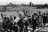 Protest against rundown and closure of the steelworks, Corby 1979 - Peter Arkell - 1970s,1979,activist,activists,against,British Steel,BSC,CAMPAIGN,campaigner,campaigners,CAMPAIGNING,CAMPAIGNS,closed,closing,closure,closures,communities,community,Corby,DEMONSTRATING,Demonstration,DE