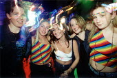 Nightclubbers in Swansea Wales - Paul Box - 2000s,2001,ACE,adolescence,adolescent,adolescents,Alcohol,appeal,club,clubbers,clubbing,clubs,culture,dance,dancer,dancers,dancing,disco,diva,drink,drinking,EMOTION,EMOTIONAL,EMOTIONS,enjoying,ENJOYME