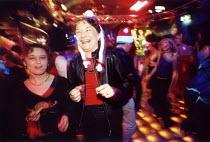 Nightclubbers in Swansea Wales - Paul Box - 14-12-2001