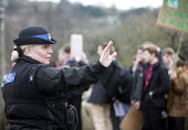 Police community traffic officer, Stroud, Gloucestershire. - Paul Box - 2010s,2014,adolescence,adolescent,adolescents,adult,adults,CLJ,communities,community,education,FEMALE,force,MATURE,Officer,officers,patrol,patrolling,pcso,pcsos,people,person,persons,Police,policewoma