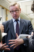 Michael Gove MP visiting Marling school, Stroud, Gloucestershire. - Paul Box - 2010s,2014,CONSERVATIVE,Conservative Party,conservatives,education,pol,political,POLITICIAN,POLITICIANS,politics,school,schools,secondary,visit,visiting,visits