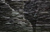 A slate structure at Welsh Slate, Penrhyn quarry, Bethesda, North Wales. - Paul Box - 12-08-2013