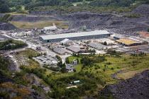 Welsh Slate, Penrhyn quarry, Bethesda, North Wales. - Paul Box - 13-08-2013