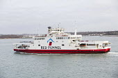 Red Funnel car ferry, Southampton - Paul Box - 07-01-2015