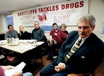 Drugs Tsar Keith Hellawell visits Bristol anti drugs group. - Paul Box - 11-05-2000