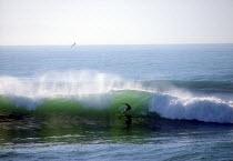 Surfer Cornwall - Paul Box - 2000s,2002,beach,beaches,Blue Sky,board,boards,bude,coast,coastal,coasts,Extreme,Extreme Sports,holiday,holiday maker,holiday makers,holidaymaker,holidaymakers,HOLIDAYS,LFL leisure,Newquay,OCEAN,peopl