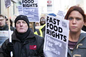 Launch of the Fast Food Rights campaign Oxford street, London - Paul Box - ,2010s,2014,activist,activists,at,BFAWU,CAMPAIGN,campaigner,campaigners,CAMPAIGNING,CAMPAIGNS,cities,city,contracts,DEMONSTRATING,demonstration,DEMONSTRATIONS,EARNINGS,EQUALITY,fair,fast food,fast foo