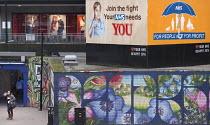 Protect Our NHS poster Bearpit Community Action Zone, NHS Billboard, The Bearpit, Bristol. European Green Capital. - Paul Box - 2010s,2014,activist,activists,against,Anti privatisation,Anti privatisation,anti privatization,billboard,billboards,CAMPAIGN,campaigner,campaigners,CAMPAIGNING,CAMPAIGNS,cities,city,communities,Commun