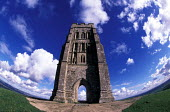 Glastonbury Tor, St Michaels Church Tower - Paul Box - 14-07-2002