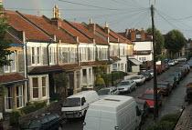 A street of victorian terraced houses, Bristol - Paul Box - 01-11-2003
