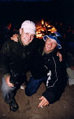 Good friends at a beach fire and party. - Paul Box - 01-10-2003