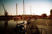 Yachts moored at Bristol Docks. - Paul Box - 14-09-2002