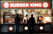 Burger King fast food outlet. - Paul Box - 14-07-2002