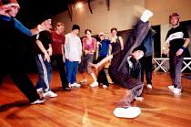 Breakdance classes Bristol Community Dance Centre. - Paul Box - 14-08-2001