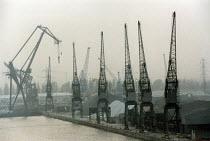 Southampton Docks. - Paul Box - 10-04-2002
