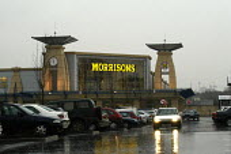 Morrisons supermarket , Cribbs Causeway, Bristol. - Paul Box - 2000s,2004,AUTO,AUTOMOBILE,AUTOMOBILES,AUTOMOTIVE,bought,buy,buyer,buyers,buying,car,car park,car parks,cars,cities,city,commodities,commodity,consumer,consumers,customer,customers,EBF Economy,food,FO