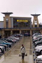 Morrisons supermarket , Cribbs Causeway, Bristol. - Paul Box - 09-01-2004