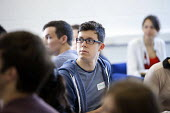 Students at Bath University attend a course on widening participation activities designed for under-represented groups who have the potential to benefit from higher education. The widening participati... - Paul Box - 04-06-2013
