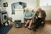 Elderly couple who live on there own in a small farmhouse, North Wales - Paul Box - 18-08-2007