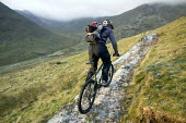 Mountain Biking near Helvelin, Lake District. - Paul Box - 20-11-2005