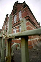 St Andrews Junior and Infant school, in Newport. Buildings in a poor state of repair - Paul Box - 06-02-2006