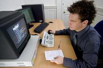 Office worker. - Paul Box - 20-10-2005