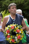 John Locke Unite, Wreath Laying, Tolpuddle Martyrs Festival 2014 - Paul Box - 2010s,2014,cemeteries,cemetery,festival,FESTIVALS,floral,flower,flowering,flowers,grave,graves,graveyard,Graveyards,Hammett,headstone,James,Laying,member,member members,members,PEOPLE,SWTUC,Trade Unio